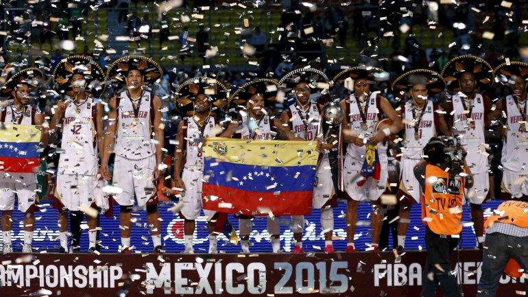 Venezuela derrotó a Argentina por 76 a 71 en la final del Preolímpico disputado en México en 2015.