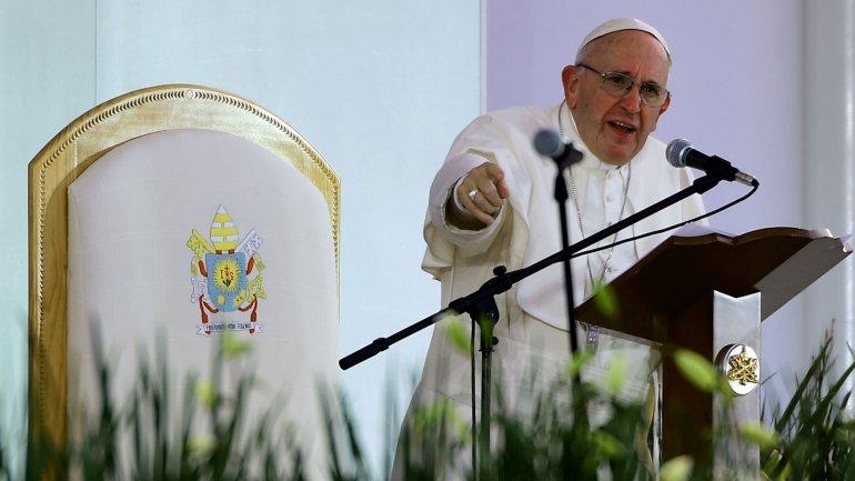 Ustedes son la riqueza de esta tierra, advirtió el papa Francisco a los jóvenes mexicanos