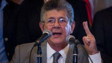 Henry Ramos Allup, presidente de la Asamblea Nacional de Venezuela