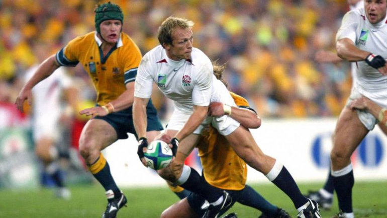 Matt Dawson participó en las Copas del Mundo de Gales 1999 y Australia 2003