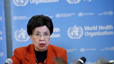Margaret Chan, directora de la Organización Mundial de Salud