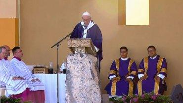 El papa Francisco ofició la última misa de su gira en México en la fronera con los EEUU