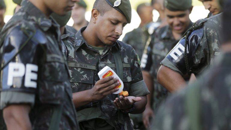 Unos 200.000 militares fueron movilizados en Brasil para combatir al mosquito Aedes aegypti