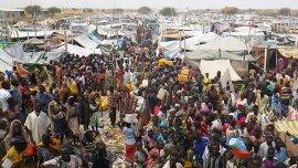 El campo de refugiados de Malakal en Sudán del Sur
