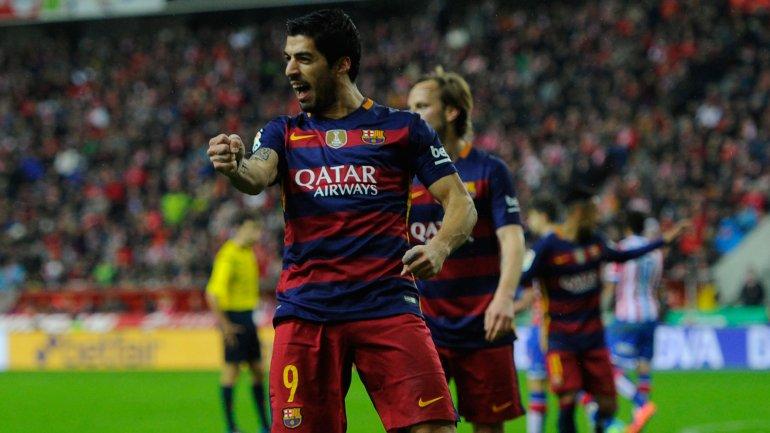 Luis Suárez suma 26 goles y es el goleador del Barcelona en la Liga BBVA
