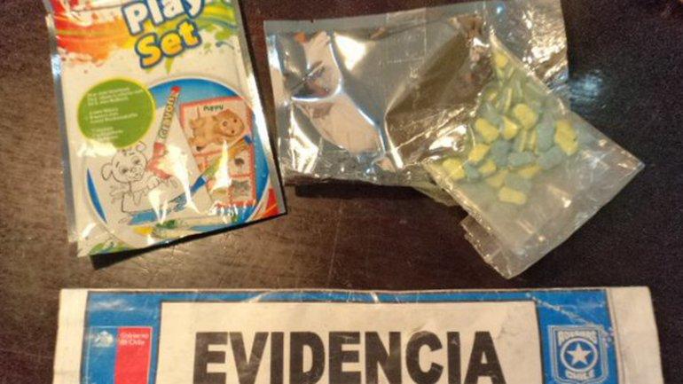 Las pastillas de éxtasis con forma de Minions fueron halladas dentro de un set infantil