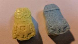Las pastillas de éxtasis encontradas tenían la forma de los Minions