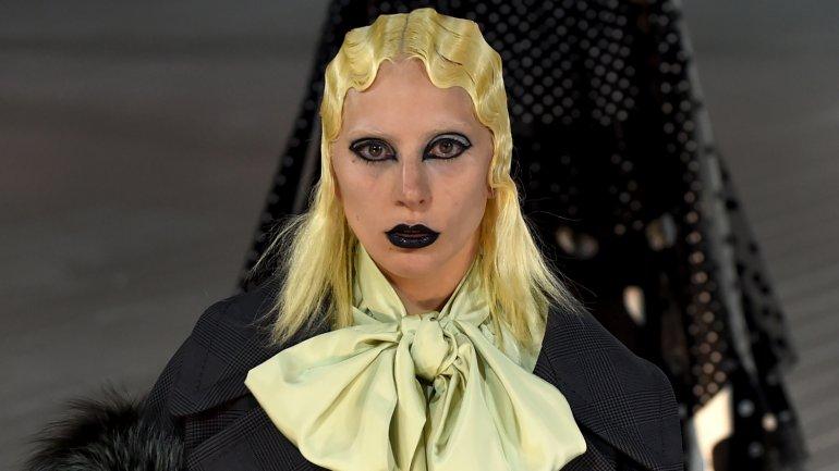 Lady Gaga cerró el desfile de Marc Jacobs en la Semana de la Moda en Nueva York
