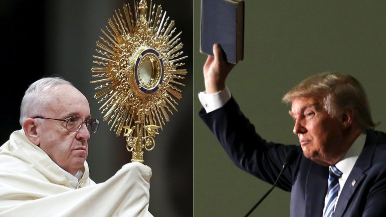 La irrupción del papa Francisco en la campaña norteamericana podría tener un efecto contrario al esperado. Donald Trump busca cómo sacar provecho del ataque sufrido.