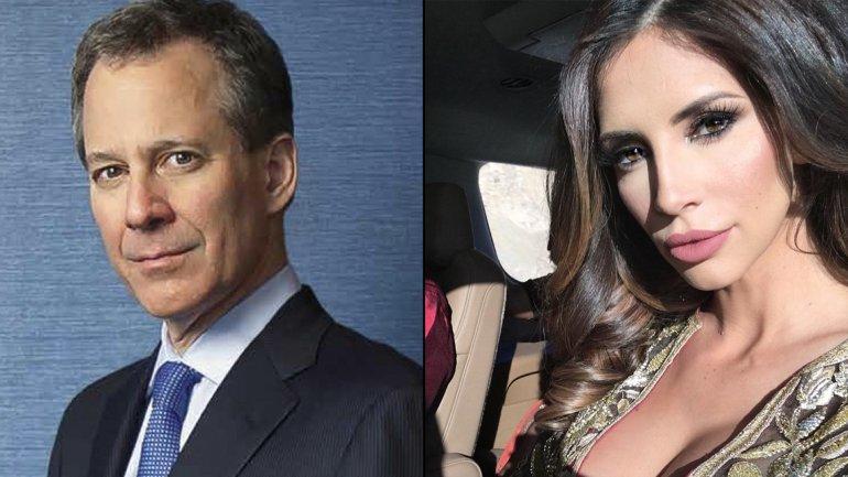 El fiscal general de Nueva York,Eric Schneiderman, y la ex modelo de Playboy Hope Dworaczyk.