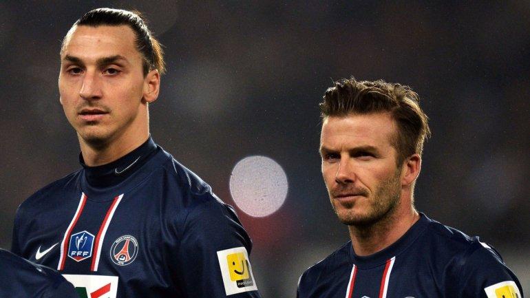 David Beckham intentará que Zlatan Ibrahimovic sea la estrella de su equipo de Miami