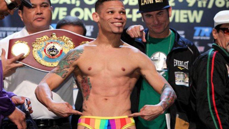 Orlando Cruz, boxeador homosexual, se molestó con los dichos de Manny Pacquiao