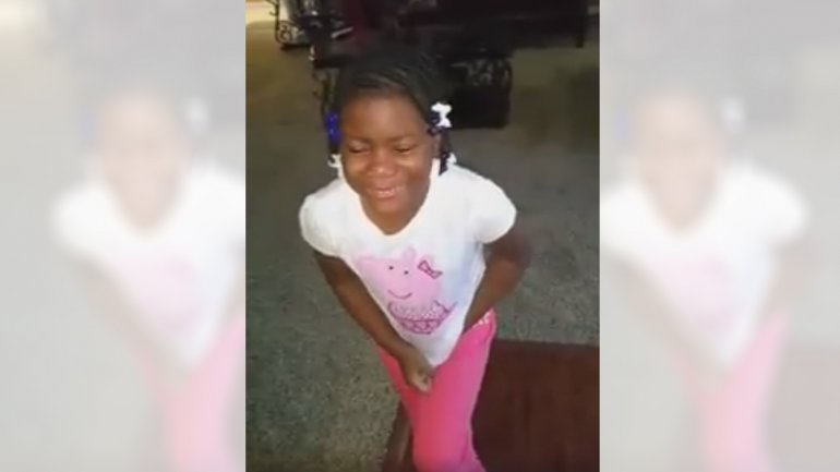 Una niña lloró al enterarse que Obama dejará la presidencia de Estados Unidos