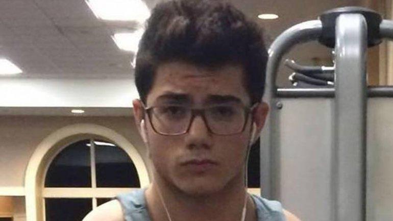 Isaías Medina tiene 17 años y es hijo de un diplomático chavista
