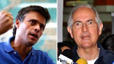 Leopoldo López y Antonio Ledezma