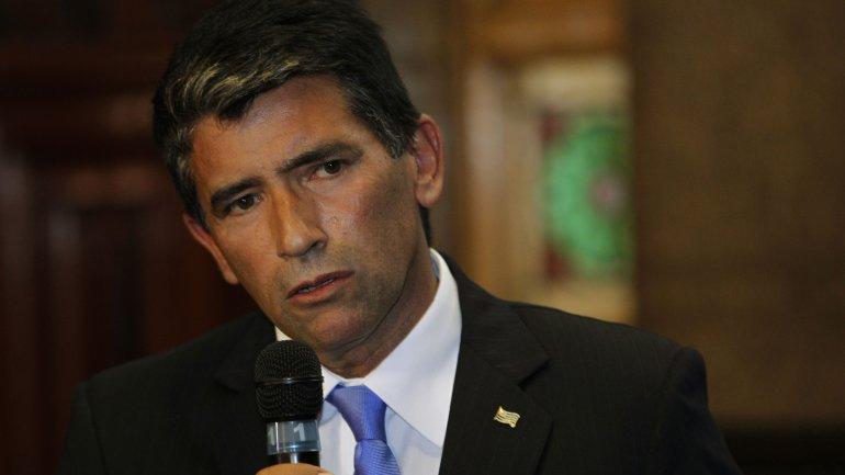 El vicepresidente de Uruguay, Raúl Sendic
