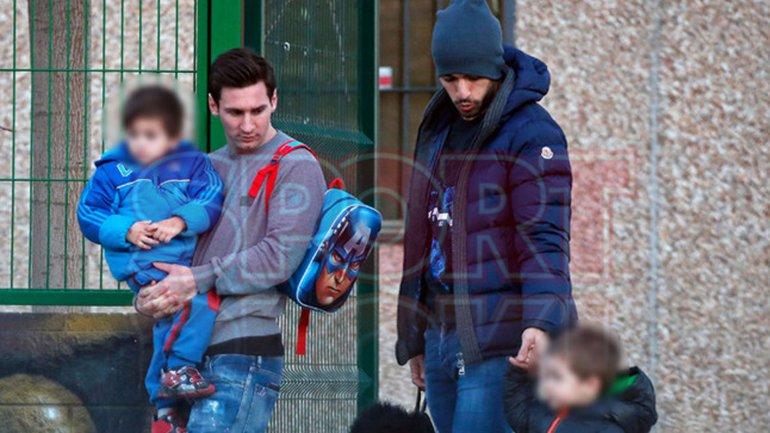 Las familias de Lionel Messi y Luis Suárez tienen una gran relación