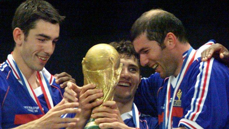 Robert Pires fue campeón del Mundial de Francia 1998