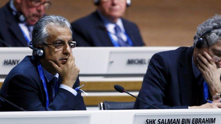 Salman Bin Ebrahim Al Khalifa puede convertirse en presidente de la FIFA