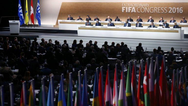 El Congreso de la FIFA en Zúrich