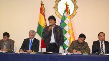Evo Morales dijo que eldebate internosobre los candidatos se hará en 2018
