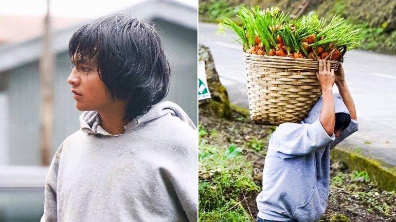 Apodado Carrot Man, este joven filipino ha encendido las redes sociales