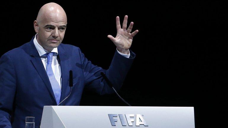 Gianni Infantino, el candidato que apoya Conmebol en las elecciones de la FIFA