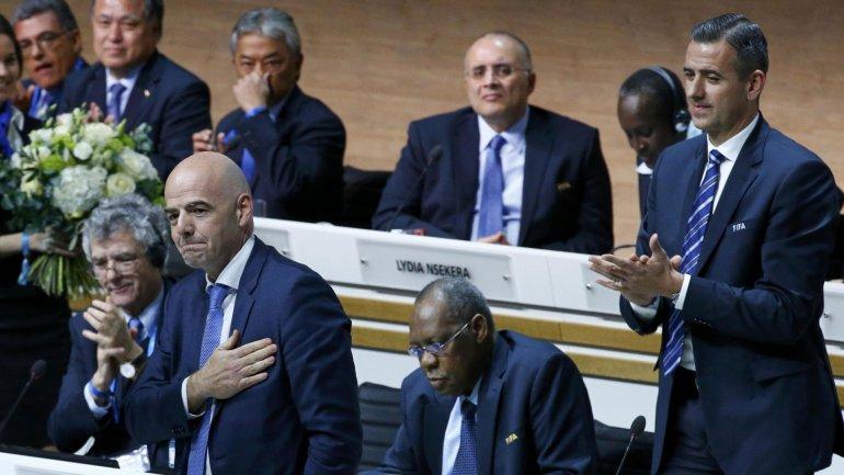 Gianni Infantino, el candidato de la UEFA que tuvo el apoyo de América, es el nuevo presidente de la FIFA