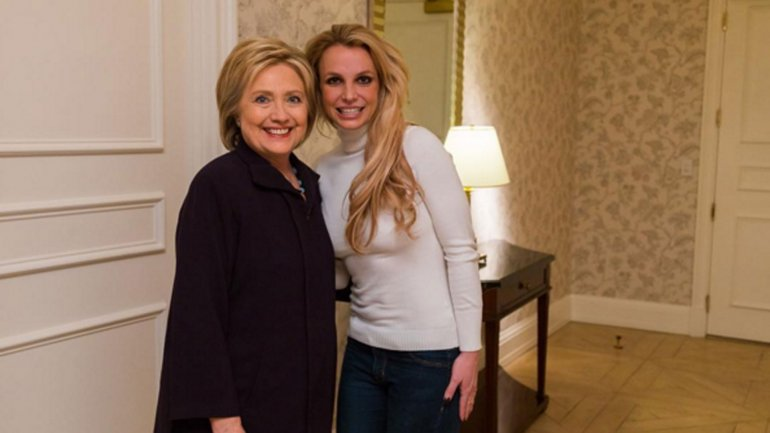Britney Spears lució un nuevo rostro