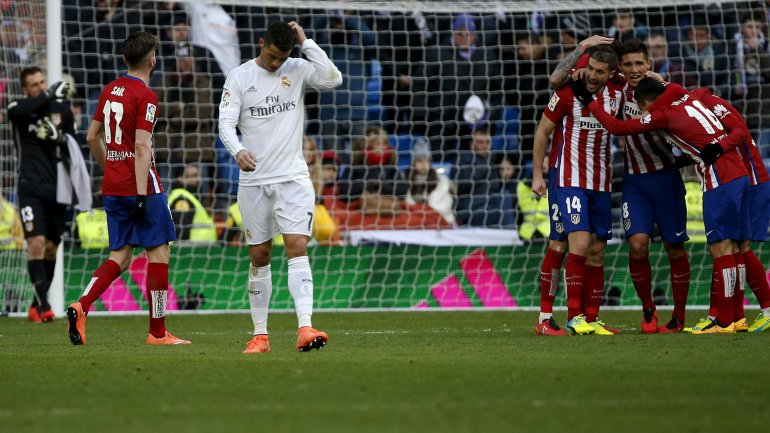 Cristiano Ronaldo atacó a sus compañero luego de la caída del Real Madrid ante el Atlético