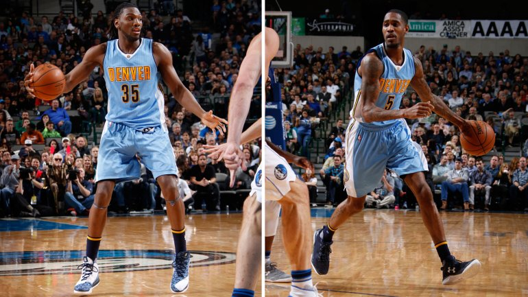 Kenneth Faried y Will Barton
