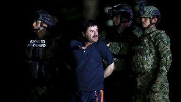 El Chapo Guzmán, después de ser detenido por tercera vez