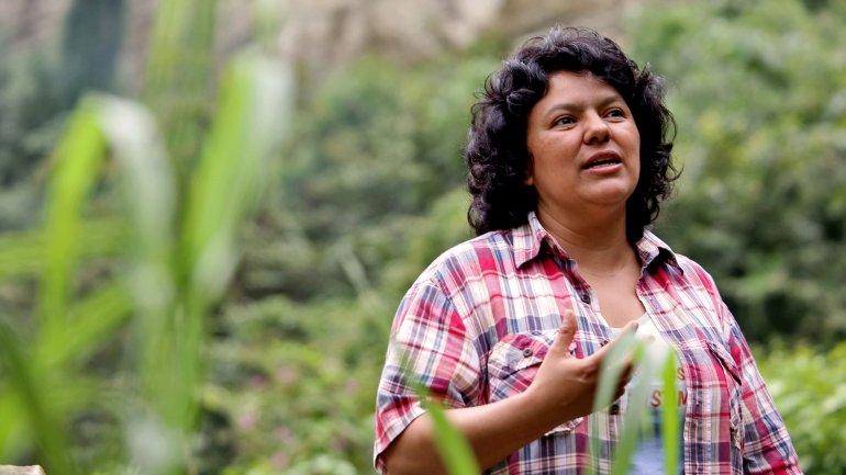 Berta Cáceres fue asesinada en su domicilio
