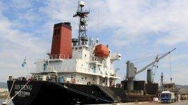 El carguero norcoreano fue retenido en el puerto filipino