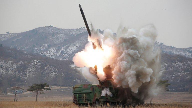 El régimen de Kim Jong-un desoyó a la ONU y continuó con sus pruebas misilísticas. Imagen de archivo