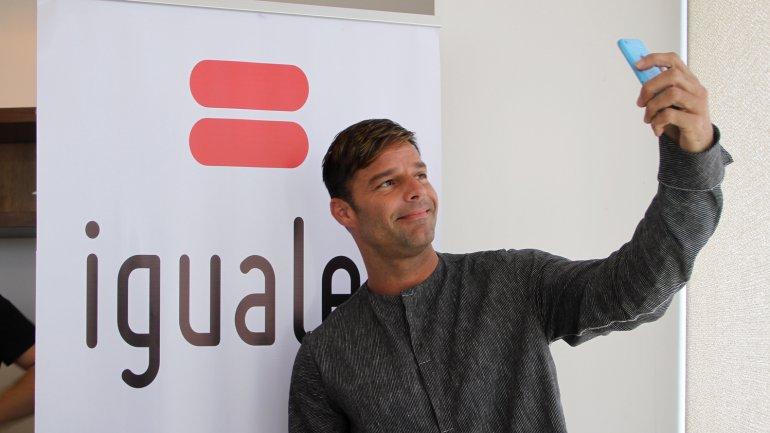 Ricky Martin se mostró a favor del matrimonio igualitario en Chile