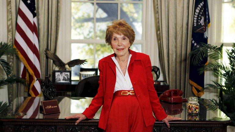 Nancy Reagan fallció a los 94 años