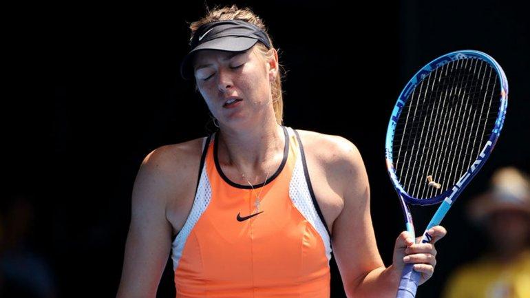 Maria Sharapova fue el blanco de la prensa inglesa