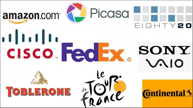 Muchos de los más populares logos de marcas ocultan un mensaje en su interior