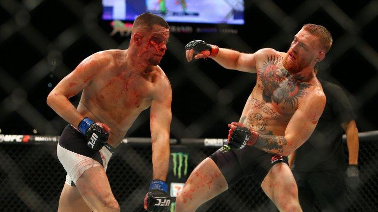 Nate Díaz derrotó a Conor McGregor en el UFC 196