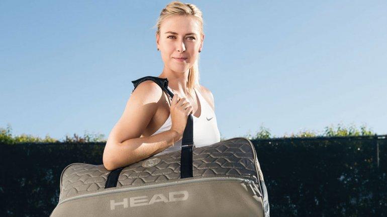 La marca de raquetas Head expresó su apoyo a Maria Sharapova a pesar del doping