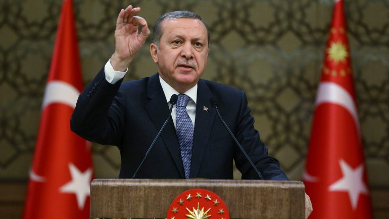 El presidente turco, Recep Erdogan
