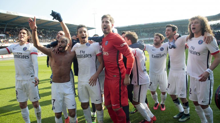 El Paris Saint Germain alcanzó su sexto título de liga, el cuarto de manera consecutiva