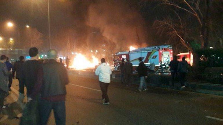 El atentado ocurrióen la plaza de Kizilay, en el centro de Ankara