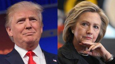 Trump y Clinton están a poca distancia en las encuestas