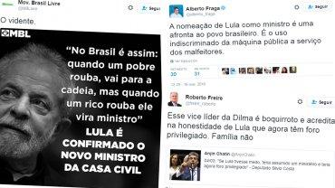 Políticos, tuiteros de Brasil y el mundo se refirieron a la designación
