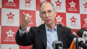 Rui Falcao, presidente del gobernante Partido de los Trabajadores de Brasil