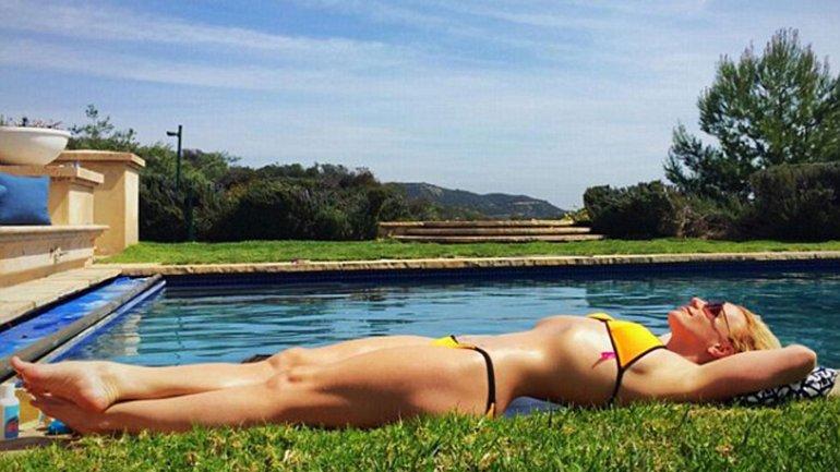 Britney Spears generó controversia con esta sexy imagen de ella en Instagram