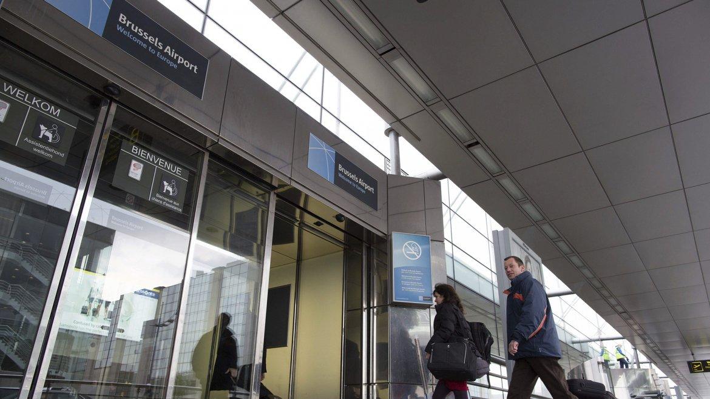Uno de los accesos al aeropuerto por la calle Zaventem