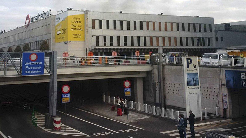 El aeropuerto de la capital belga canceló todos sus vuelos y se mantiene en alerta